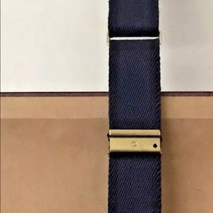 """Accessories - Leather and Canvas Belt 3 Ship 34"""" Adjustable"""